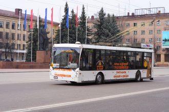 О закрытии троллейбусного движения заговорили в Брянске