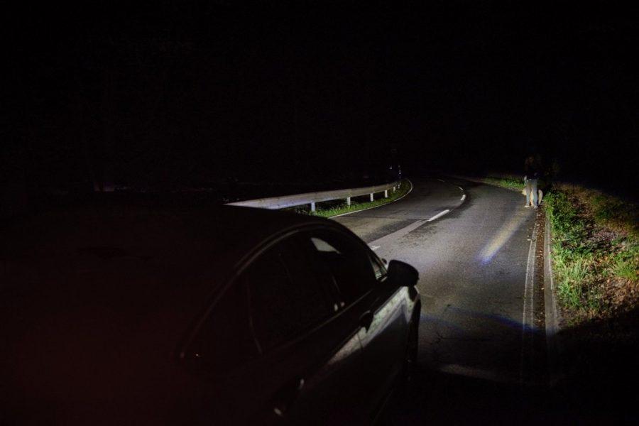 В Брянске в темноте автомобиль едва не сбил бегуна