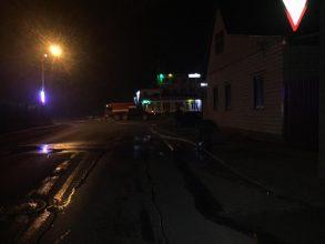 В Клинцах пожарные спасли человека из горящего дома