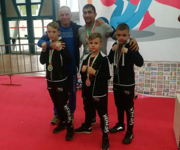 Юные брянские бойцы ММА рассказали о победе на Чемпионате мира