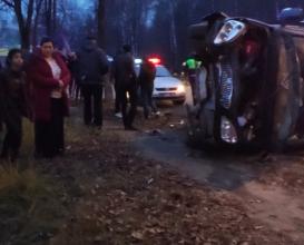 В Брянске ранено 4 человека в страшном ДТП с маршруткой