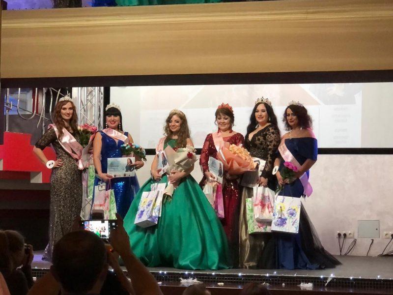 В Брянске завершился конкурс красавиц с пышными формами