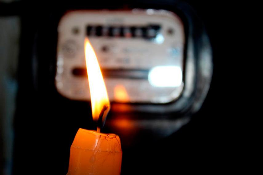 В Брянске жители улицы Ульянова остались без света