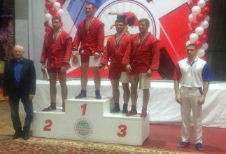 Брянский самбист Виктор Осипенко завоевал бронзу на Кубке России