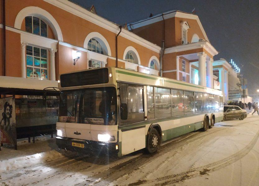 В Брянске изменится расписание вечерних автобусов