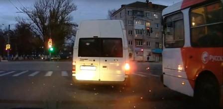 В Брянске маршрутчика-нарушителя оштрафовали на 500 рублей