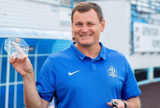 Лучшим тренером октября признали наставника брянского «Динамо»
