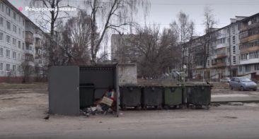 В Брянске «Пятерочка» захватила контейнерную площадку во дворе многоэтажки