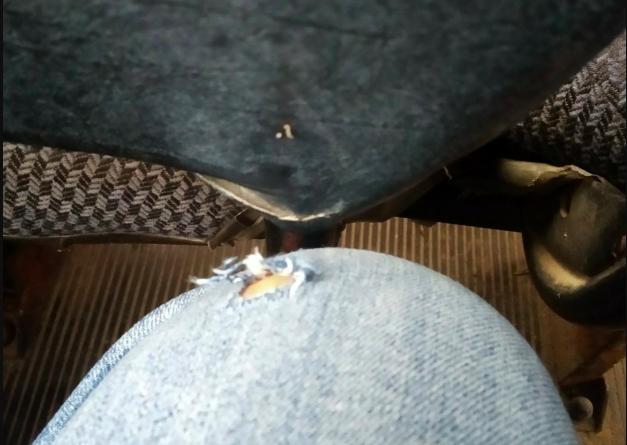 Брянец лишился штанов после поездки в маршрутке