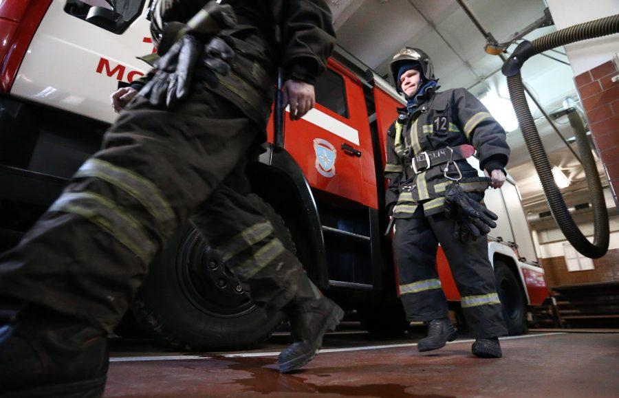В Фокинском районе Брянска сгорел прицеп легковушки