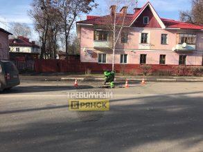 В Брянске 9-летний мальчик попал под колеса мотоцикла