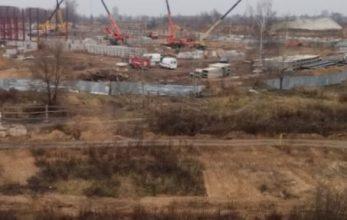 В Брянске на стройке Дворца единоборств нашли взрывоопасный предмет