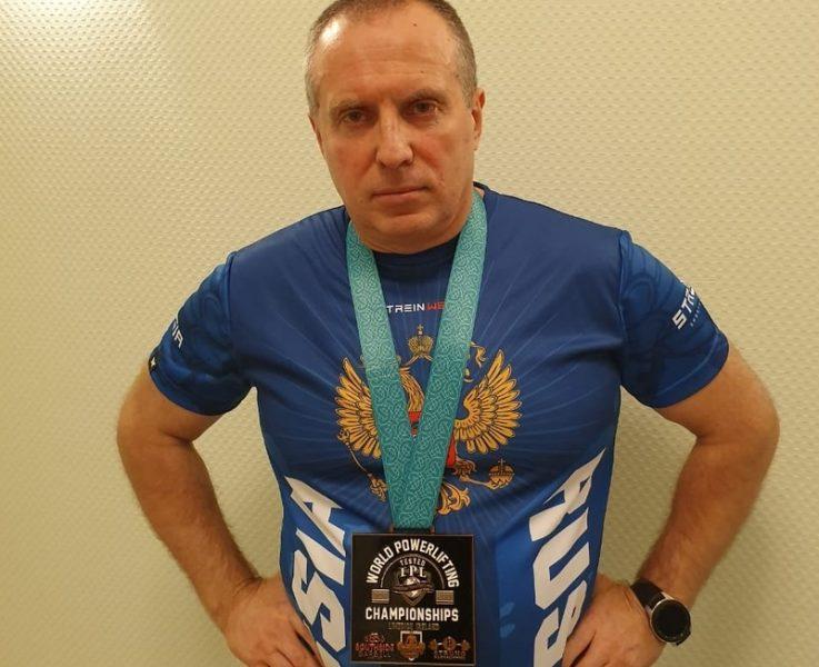 Брянский пауэрлифтер установил мировой рекорд