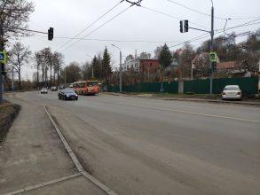 В Брянске возле наркодиспансера появился светофор