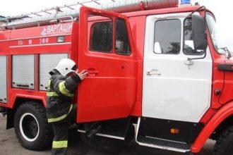 В Новозыбкове сгорела частная баня