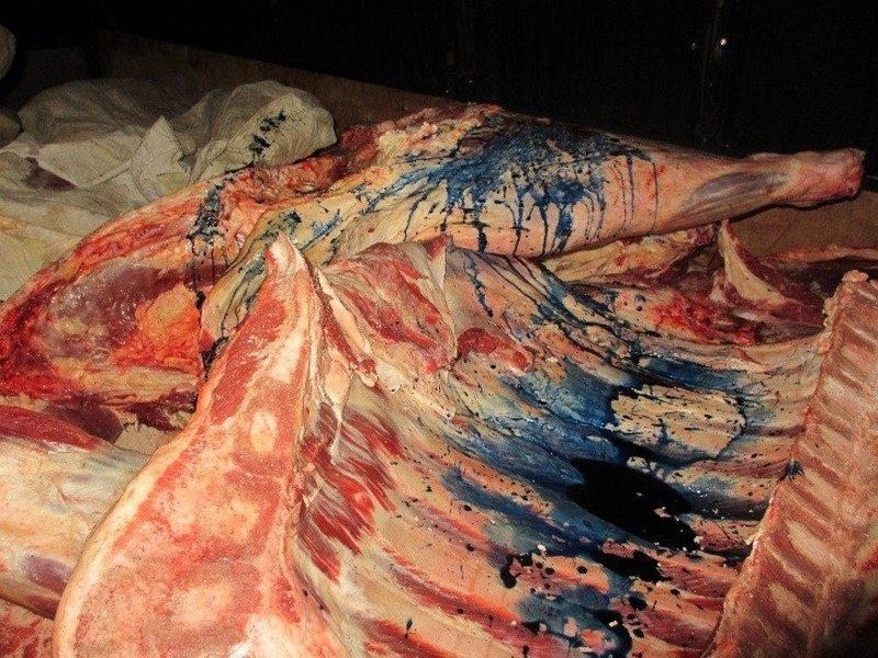 В Брянской области забраковали 800 кг белорусского мяса