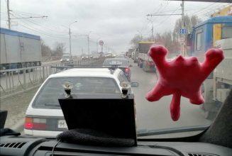 Брянск стал в адской пробке на проспекте Московском