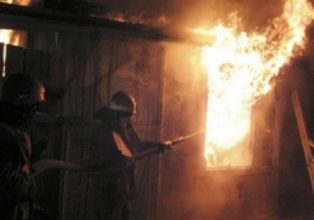 Под Дятьково сгорела частная баня