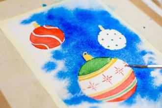 В Брянске пройдет мастер-класс по созданию новогодних открыток