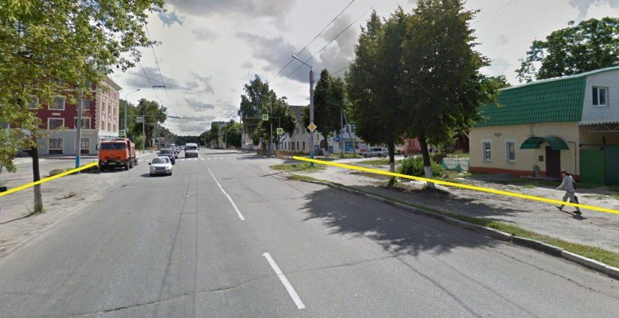 Брянцы обеспокоены судьбой голубых елей на улице Ульянова