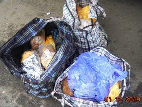 Больше тонны странного мяса сняли с пассажирских поездов на Брянщине