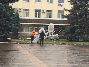 Километры гирлянд украсят Брянск к Новому году