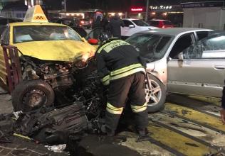 В Брянске крупное ДТП на Кургане устроил водитель Audi