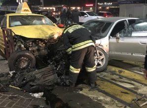 В массовом ДТП на Кургане в Брянске пострадали четыре человека