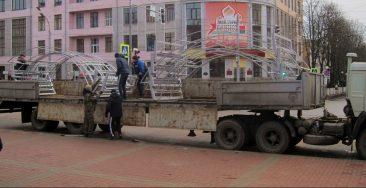 В центре Брянска появятся новогодние «арки желаний»