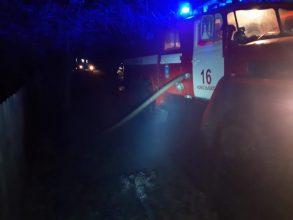 При пожаре в Новозыбкове пострадал человек
