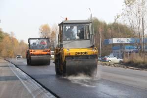 Ремонт дороги Брянск-Сельцо опередил график