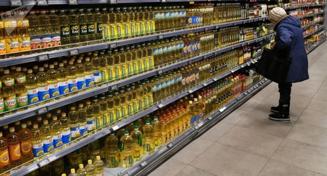 В Брянске цены на подсолнечное масло и сахар остаются стабильными