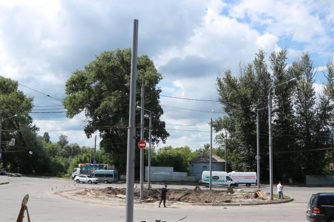 В Брянске привокзальную площадь подготовили для реконструкции