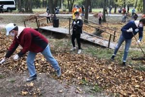 Брянские волонтеры навели порядок в усадьбе Толстого