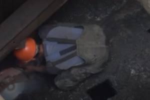Брянская канализация оказалась забита тряпками