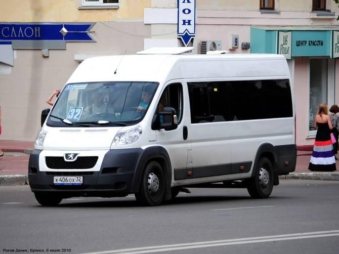 Житель Брянска пожаловался на двухчасовое ожидание маршрутки №32