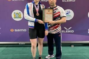 Брянская тяжелоатлетка завоевала бронзу чемпионата России