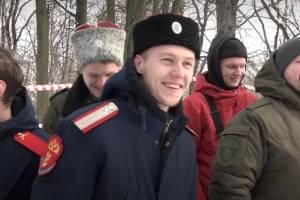 Брянские казаки сразились в лазертаг на «Лесной базе»