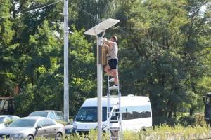 В Брянске монтируют систему видеонаблюдения перед «Литием»