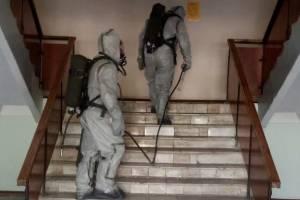 В администрации Выгоничского района боролись с коронавирусом