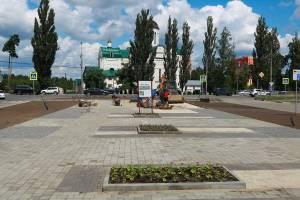 В Брянске сквер «Литий» благоустроили на треть