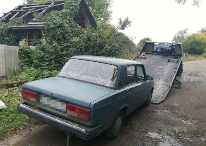 В Новозыбкове поймали пьяного 57-летнего водителя без прав