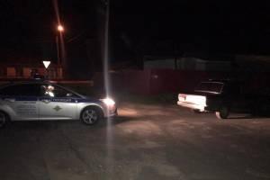 В Красной Горе поймали пьяного водителя ВАЗ без прав