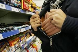 В Брянске мужчина украл продукты из супермаркета