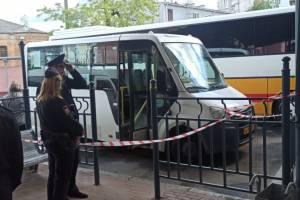 В Брянске на автовокзале искали бомбу в маршрутке