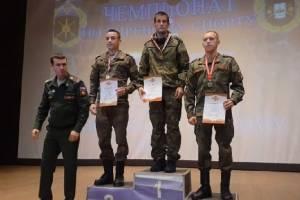 Брянский гиревик победил на Чемпионате Западного военного округа