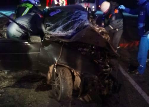 В Карачевском районе легковушка попала в жуткое ДТП