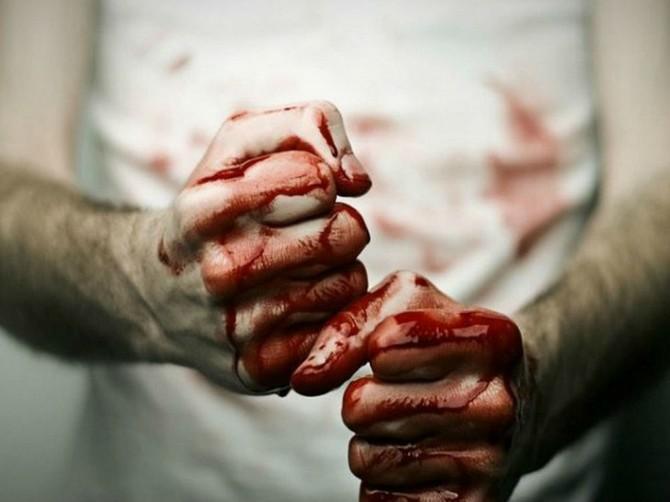 В Сураже уголовник жестоко избил собутыльника