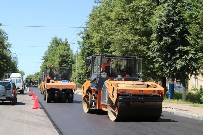 В Брянске нашли подрядчиков для ремонта 6 дорог