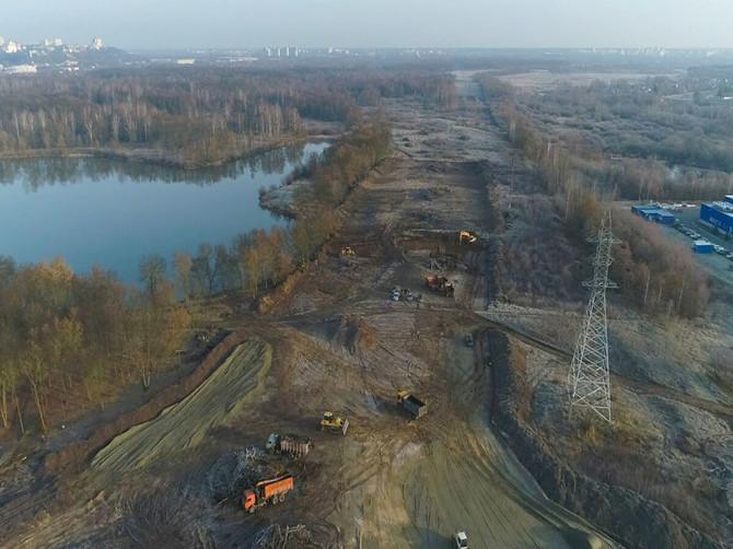 В Брянске переполошились из-за строительства дороги от «Метро»